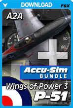 A2A Wings of Power 3 P-51 + Accu-sim Bundle