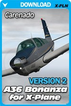 Carenado A36 Bonanza v3.2 for X-Plane 10.30+