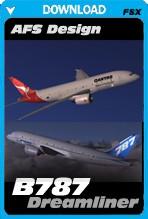 AFS Design Boeing 787 Dreamliner (FSX)