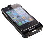 Black i.Fuzen HP1 Dual Audio, Power & Protection For iPhone4
