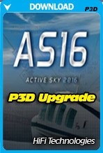 Active Sky 2016 for P3D (UPGRADE Version)