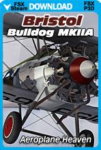 Bristol Bulldog MkIIA (FSX/FSX:SE/P3Dv1-v4)
