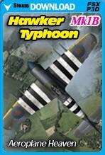 Hawker Typhoon Mk1B (FSX/FSX:SE/P3D)
