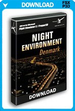 Night Environment Denmark (FSX)
