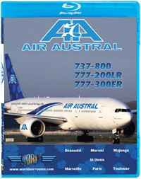 Just Planes BluRay - Air Austral B737/B777