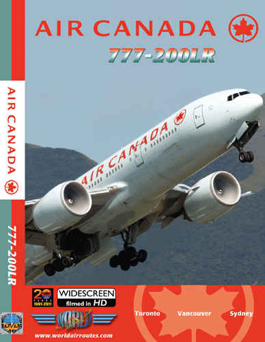 Just Planes DVD - Air Canada 777-200