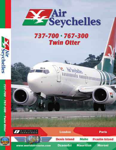 Just Planes DVD - Air Seychelles