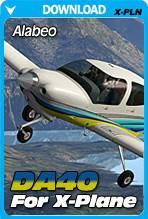 Alabeo DA40 for X-Plane 10