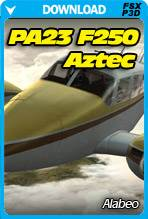 Alabeo PA23 AZTEC F 250 (FSX/FSX:SE/P3D)