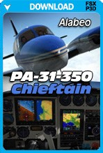 Alabeo PA31 Chieftain 350 (FSX/FSX:SE/P3D)