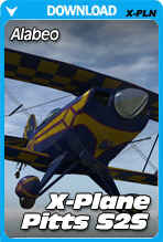 Alabeo Pitts S2S for X-Plane