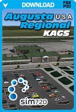 Augusta Regional Airport KAGS (FSX+P3D)