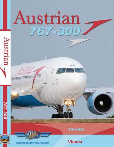 Just Planes DVD - Austrian 767-300