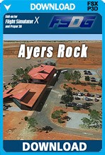 Ayers Rock Uluru for FSX