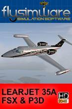 Learjet 35A for FSX & P3D