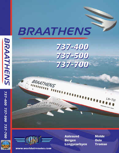 Just Planes DVD - Braathens