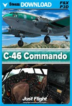Just Flight C-46 Commando (FSX/FSX:SE/P3Dv1-v4)