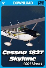 HD Airplanes Cessna 182T Skylane (FSX+P3D)