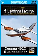 FlySimWare Cessna 402C Businessliner (FSX/FSX:SE/P3Dv1-v4)