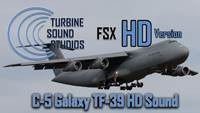 C-5 Galaxy TF-39 soundpack for FSX HD