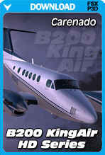 Carenado B200 King Air HD Series (FSX/FSX:SE/P3Dv3-v4)