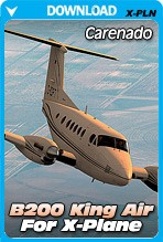 Carenado B200 King Air v3.2 HD Series for X-Plane 10.30+