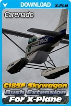 Carenado C185F Skywagon Bush Extension Pack v3 for X-Plane 10.30+