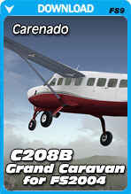Carenado C208B Grand Caravan (FS2004)