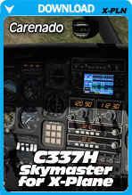 Carenado Cessna 337 Skymaster v2 for X-Plane