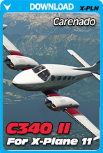 Carenado C340 II for X-Plane 11