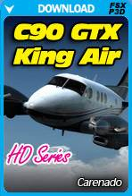 Carenado C90 GTX King Air HD Series (FSX/FSX:SE/P3Dv2-v4)