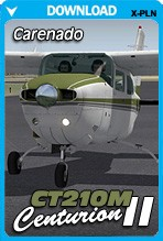 Carenado CT210M Centurion II HD Series for X-Plane 10.30+