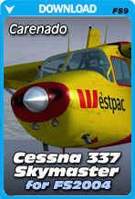 Carenado Cessna 337 Skymaster (FS2004)