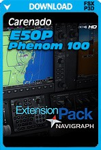 Navigraph Extension Pack for the Carenado E50P Phenom 100 (FSX/FSX:SE/P3D)