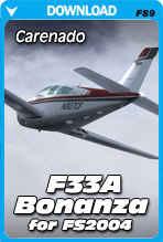 Carenado F33A Bonanza (FS2004)