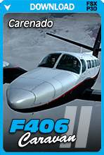 Carenado F406 Caravan II HD Series (FSX+P3D)