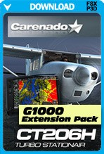Carenado CT206H G1000 Extension Pack (FSX/FSX:SE/P3D)