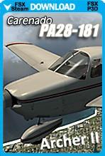 Carenado PA-28-181 ARCHER II (FSX/FSX:SE/P3Dv3-v4)