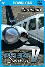 Carenado PA34 Seneca V HD Series (FSX+P3D)