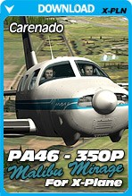 Carenado PA46 Malibu Mirage 350P HD Series v3.2 for X-Plane 10.30+