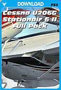 Carenado Cessna U206G Stationair 6 II Full Pack
