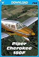 Carenado Piper Cherokee 180F - FSX
