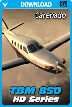 Carenado TBM 850 HD Series (FSX/FSX:SE/P3Dv3-v4)