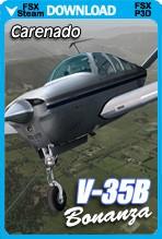 Carenado Bonanza V35B V-TAIL (FSX/FSX:SE/P3Dv3-v4)