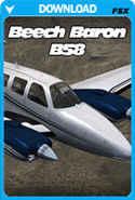 Carenado Beechcraft Baron B58 (FSX/FSX:SE/P3D)