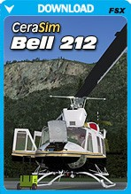 Cera Sim Bell 212 (FSX/FSX:SE/P3D)