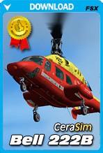Cera Sim Bell 222 B (FSX/FSX:SE/P3D)