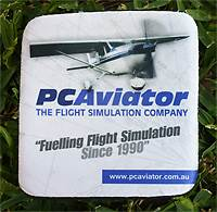 PC Aviator Neoprene Drinks Coaster - 2 for $6 Delivered