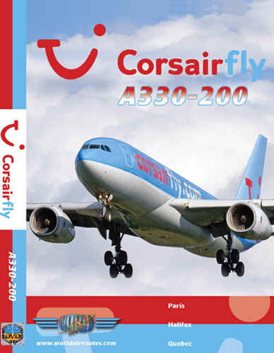 Just Planes DVD - CorsairFly A330-200
