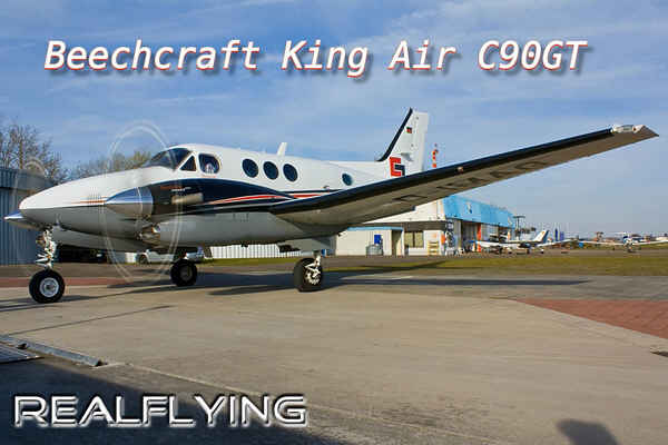 REALFLYING COCKPIT BEECHCRAFT KING AIR C90GT